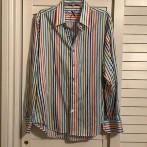 Robert Graham Men's L button down shirt